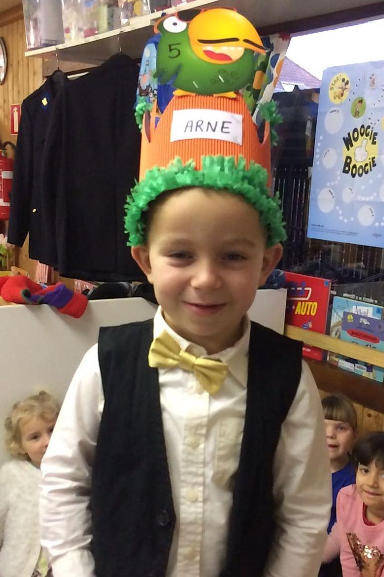 Arne is 5!