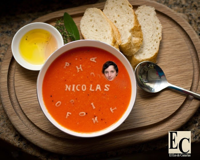 hasta en la sopa francisco nicolas