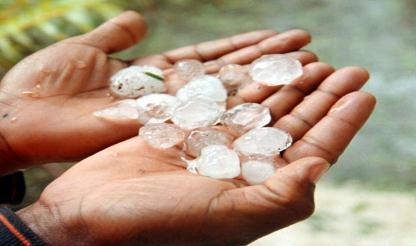Chuva de granizo provoca dez feridos e destruição a mais de cem casas em Manica