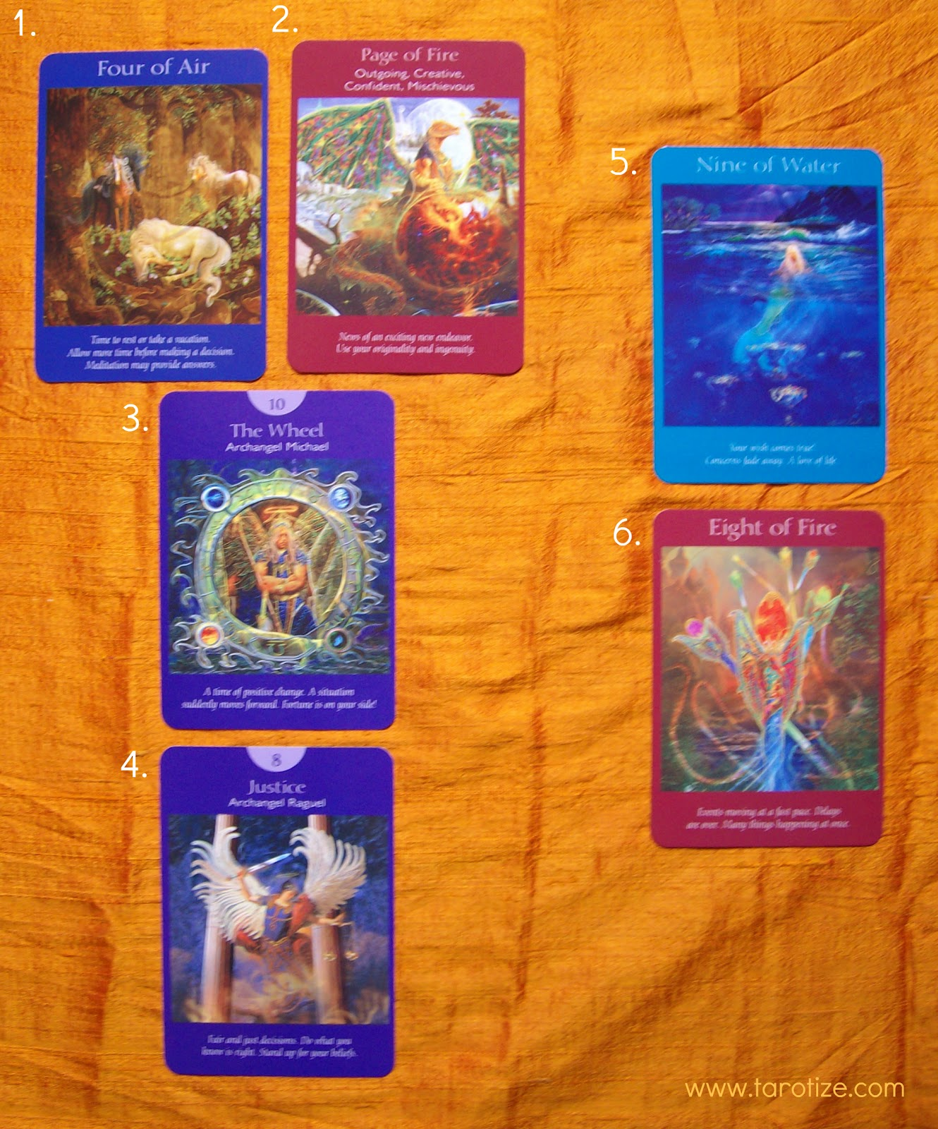 deck interview doreen virtue s angel tarot angelorum describe yourself in three words 4 of air swords peaceful gentle soothing i make a great deck for your daily meditative focus