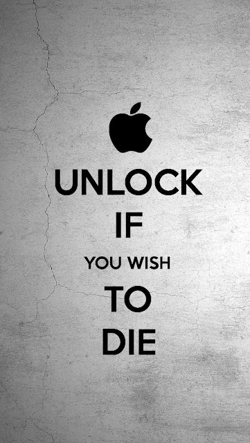 UNLOCK IF YOU WISH TO DIE the iPhone 5 KEEP CALM Wallpapers funny  5s 5c 6