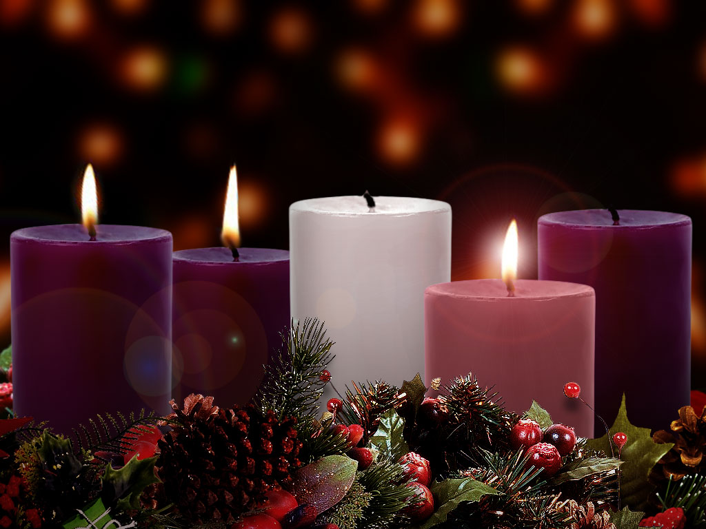 Advent Wreath Wallpaper >> Fr. Humberto's Blog: Third Sunday of Advent: John The Baptist, what a good preacher...