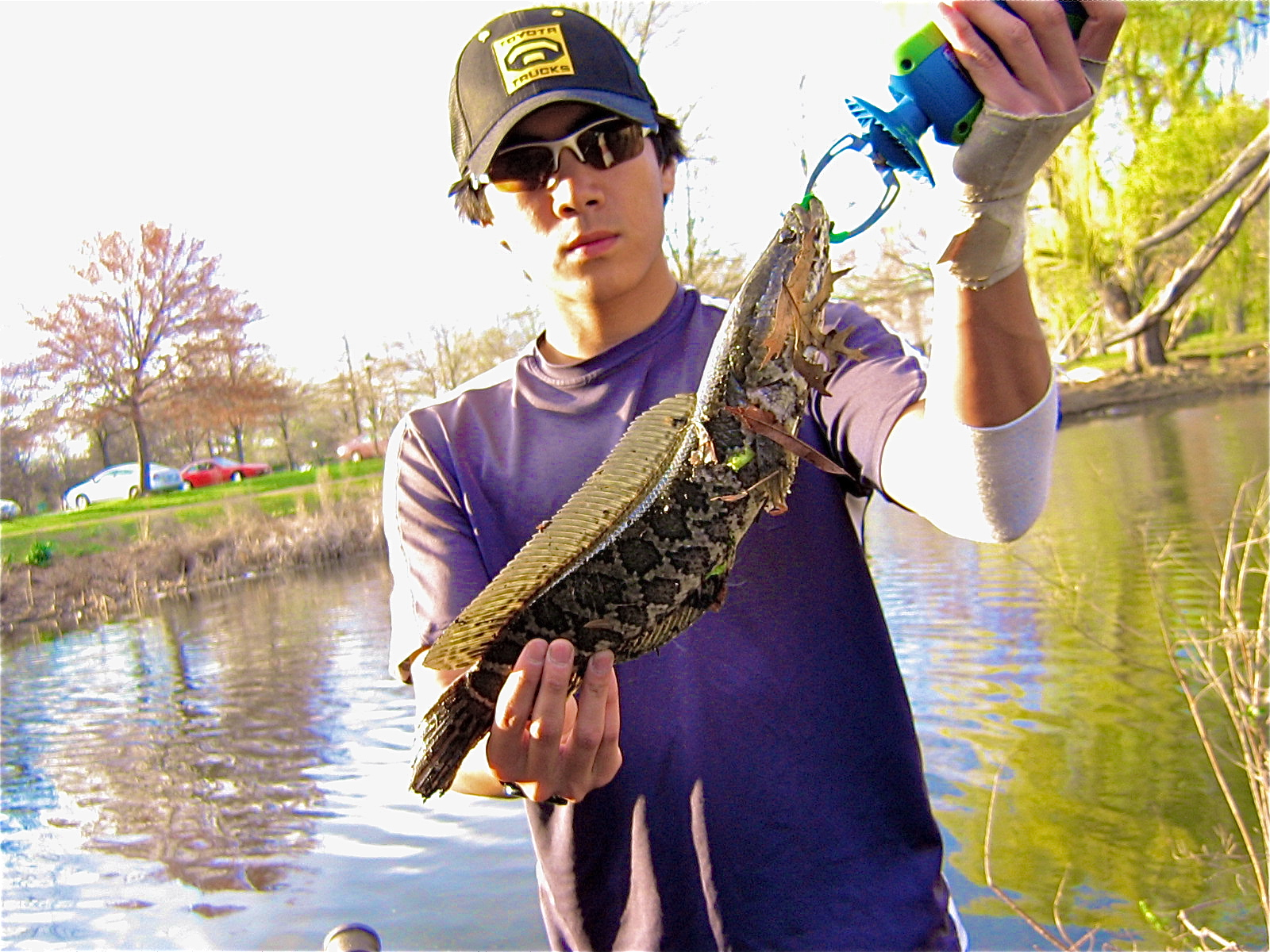 Extreme philly fishing season is open at the fdr park for Extreme philly fishing
