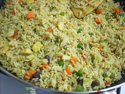 Nigerian Egg Fried Rice, nigerian fried rice