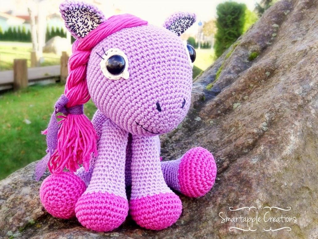 Amigurumi Ponytail : Smartapple Creations - amigurumi and crochet: Pony girl
