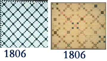 The Pattern Is One Of Earliest Organized Patchwork Designs In American Quilts