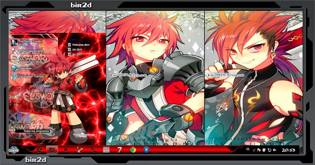 Elsword [ Theme Windows 7 ] 2