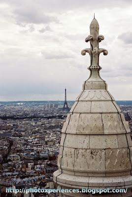 Vistas de París desde la basílica del Sacre Coeur