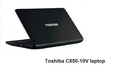 Toshiba C850-10V laptop