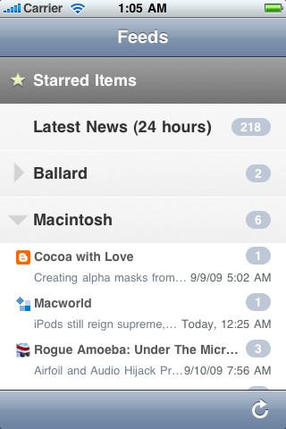 NetNewsWire iOS App