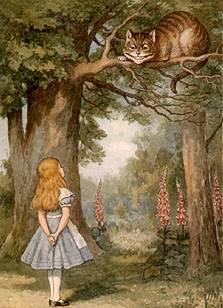 Alicia y el gato de Cheshire