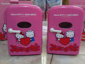 Kulkas hello kitty