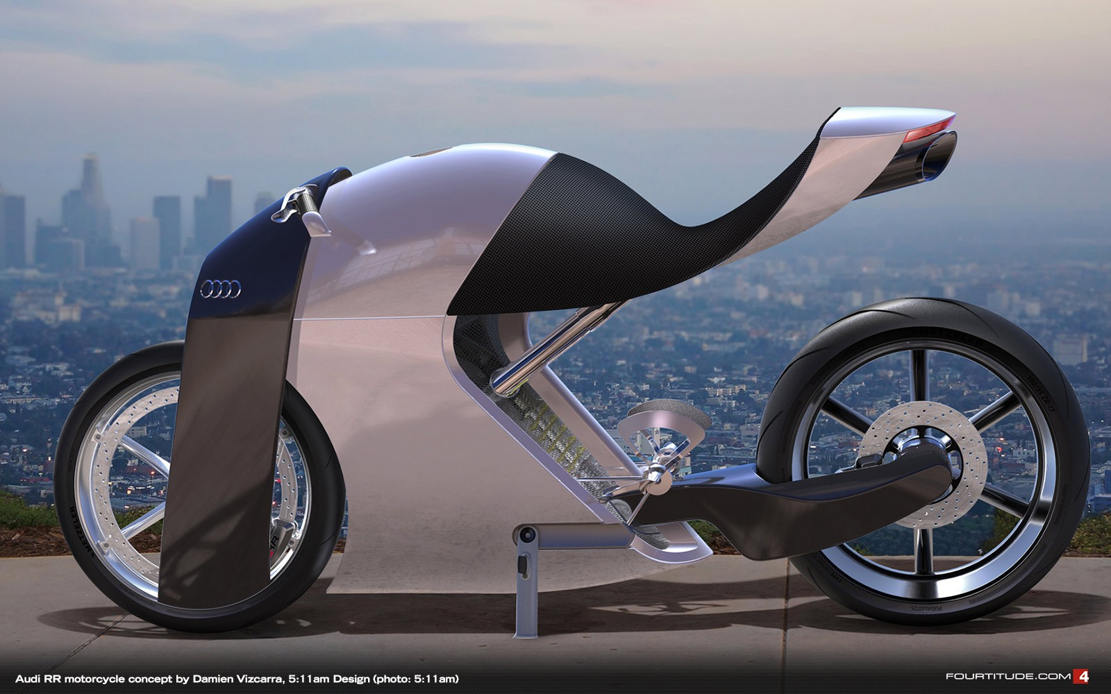 Audi S Hybrid Motorcycle Concepts