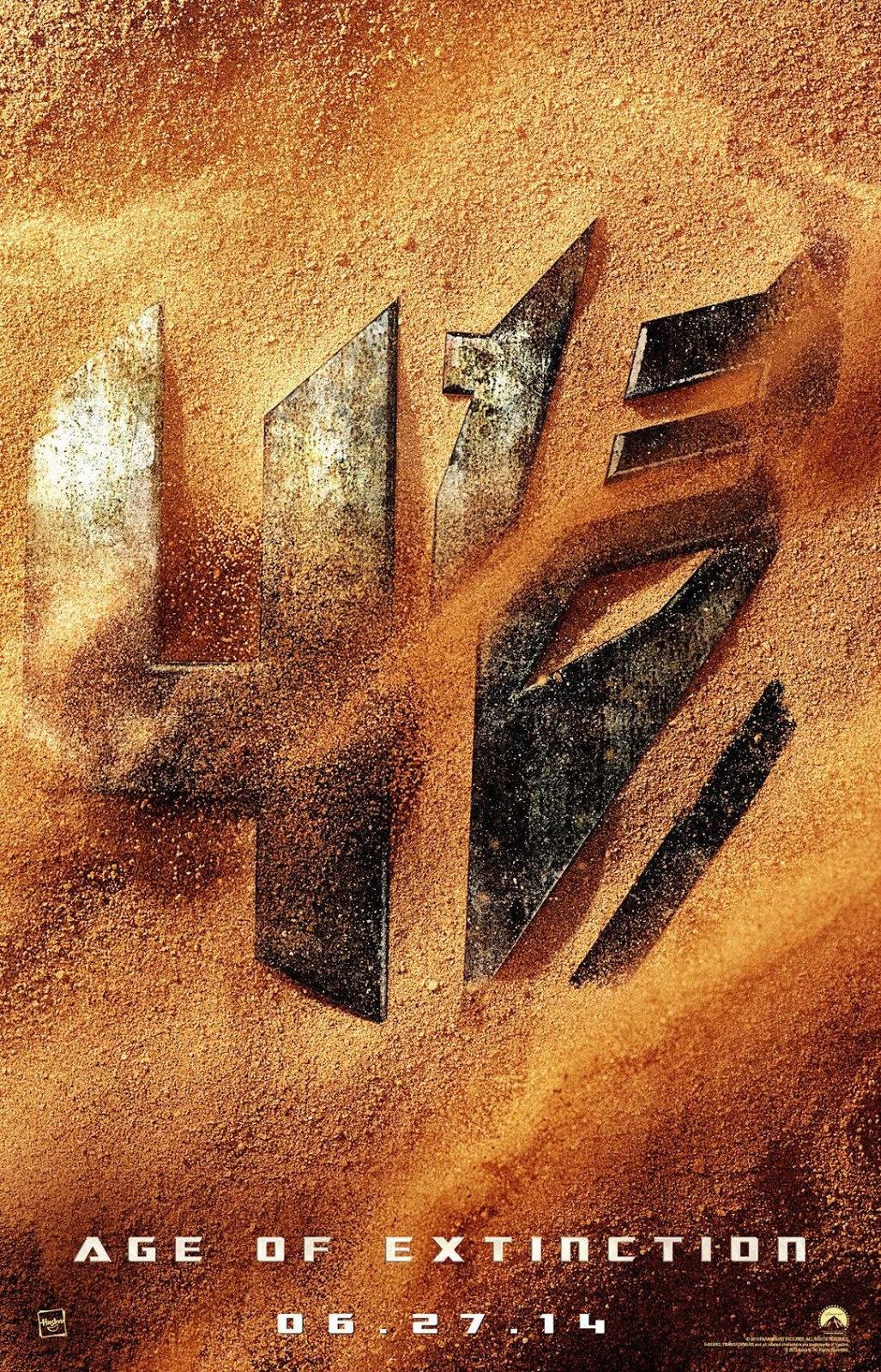 Transformers 4'ün İsmi ve Yeni Afişi