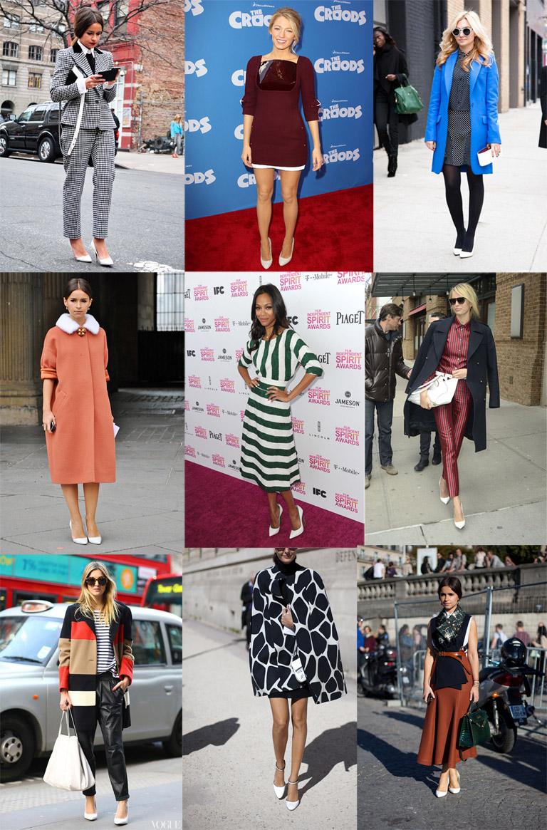 white heels trend