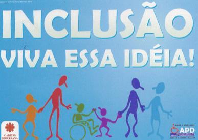 Escada para a Educação Inclusiva