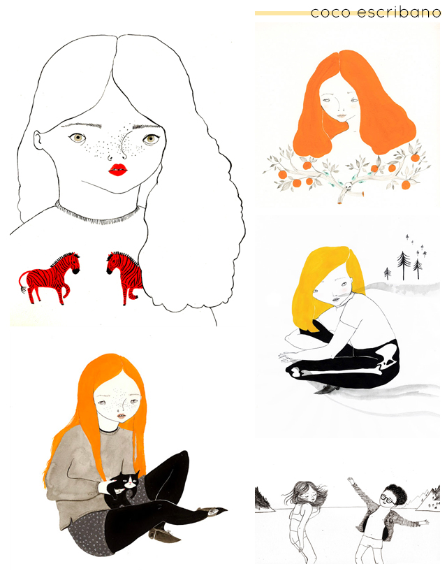 illustrations by coco escribano