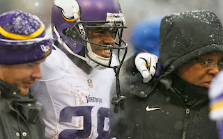 Vikings Running Back Adrian Peterson