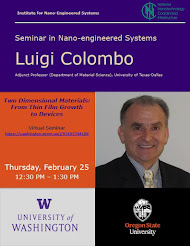 Next NanoES Seminar 2/25: Two Dimensional Materials: From Thin Film Growth to Devices