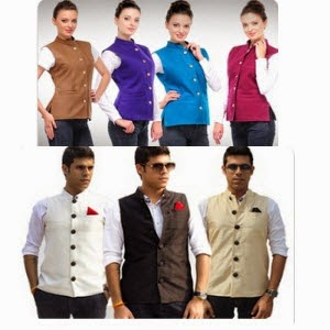Groupon: Buy Groupon Nehru Jackets for women at Rs. 479 or Rs. 575