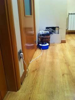 como ocultar cables en el pasillo