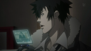 Kogami tells Ginoza about the second known victim @ Rewriting Life