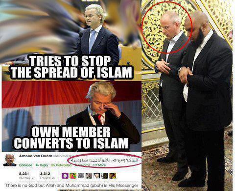 Pembuat Film Fitna Sekarang Masuk Islam