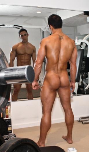 Naked big ass men