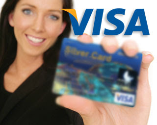 co branded debit cards and credit cards with Visa Card