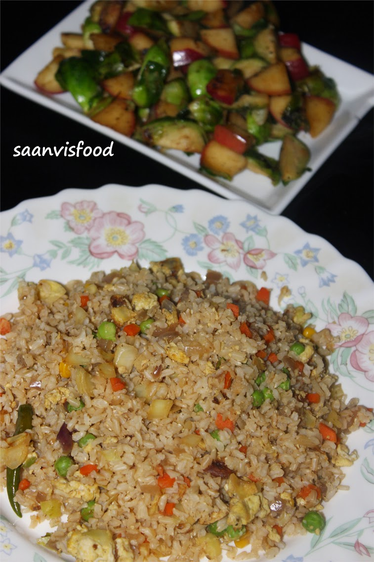 Fried Rice With Brown Rice