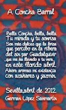 POEMA -ESCRITOR MEXICANO- DEDICADO A CONCHA BARRAL