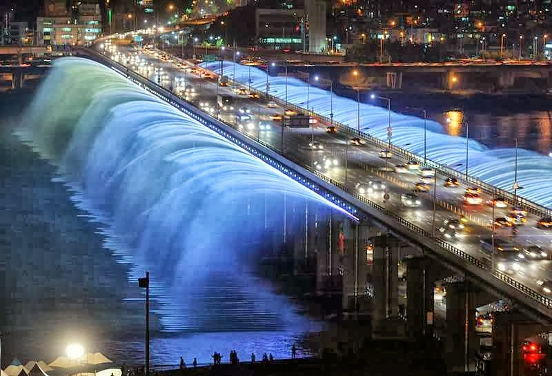 Banpo bridge (south korea)
