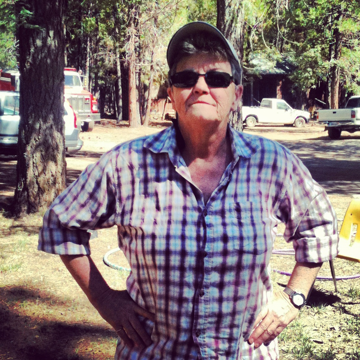 butch sightings: a social interaction: #242 karen camps it up!