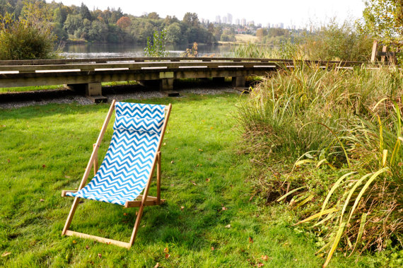 Gallant & Jones deck chair