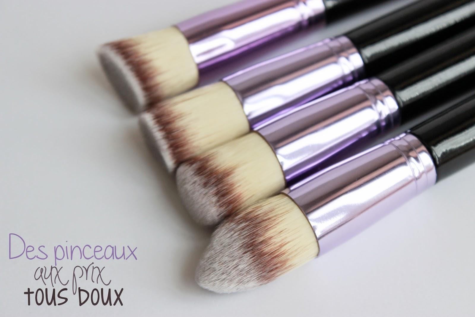 Pinceaux de maquillage pas chers