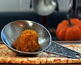 October - Homemade Kabocha Squash Pumpkin Puree