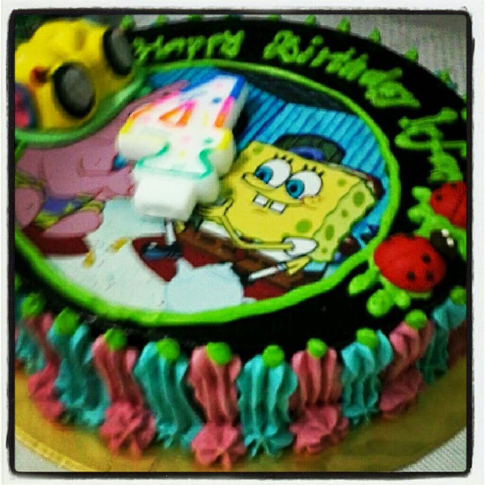 Tempahan Moist Choc Cake Birthday
