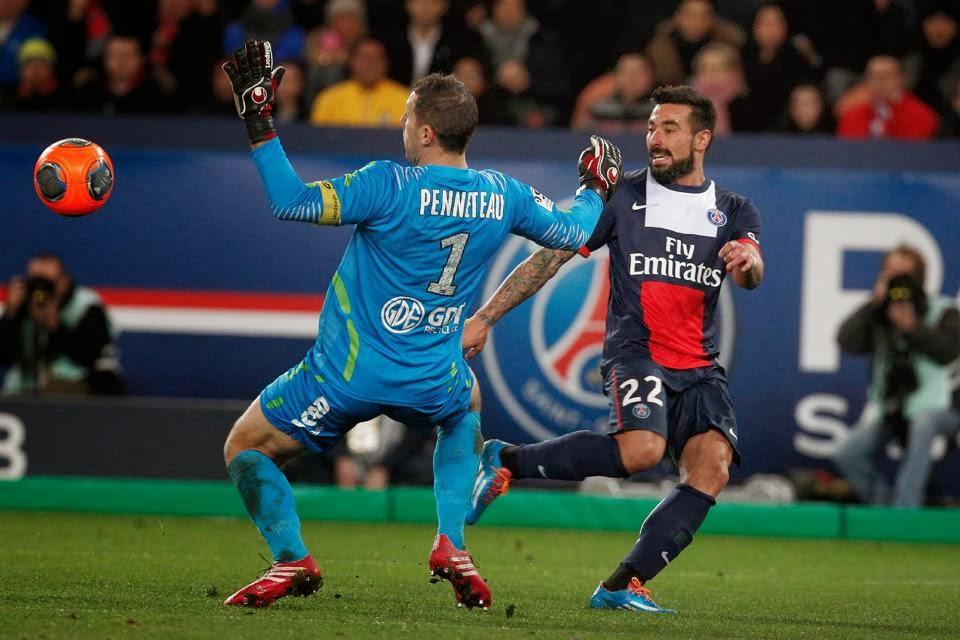 Paris Saint-Germain, Valenciennes, French league, soccer