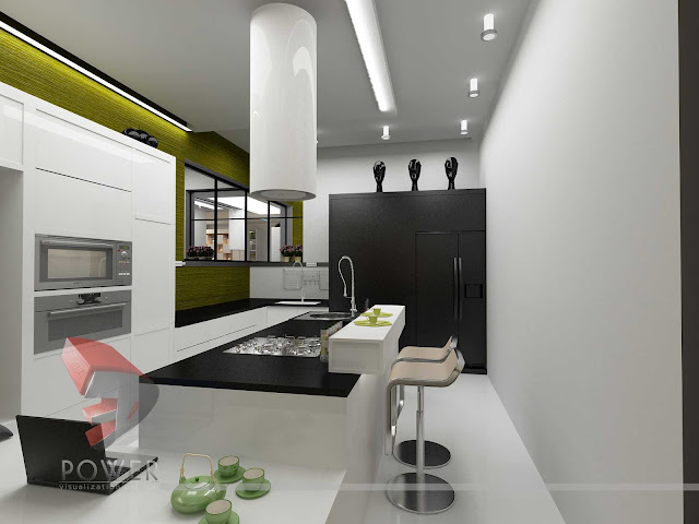 Fusion Style of Kitchen with New Interior