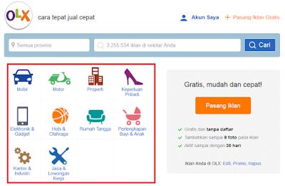 Cara Beli Barang dan Belanja Online di OLX.co.id