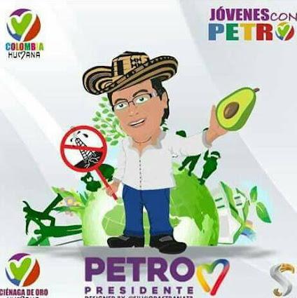 APOYEMOS PETRO PRESIDENTE Y ANIBAL CORREA DECENTES 39 PROGRESISTAS AL GOBIERNO