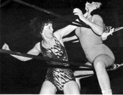 Female wrestler from the 60s and 70s