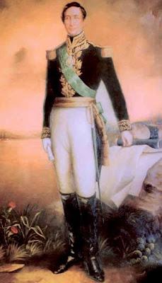 Andrés de Santa Cruz de cuerpo entero