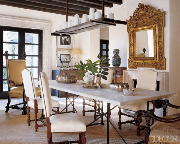 Key interiors by shinay english country dining room for Country dining room ideas