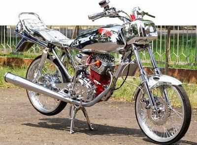 motor full chrome