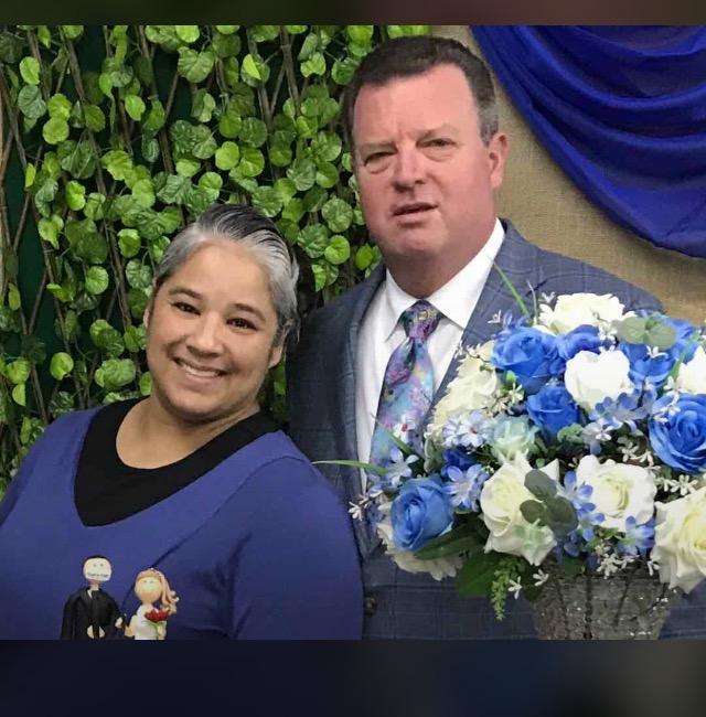Nosso Pastor e sua esposa ir.Rosângela