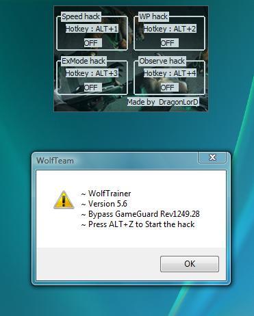 wt1lw5 Wolfteam Hız Hilesi   Nakit Hilesi   Exmode   Combo Hilesi indir
