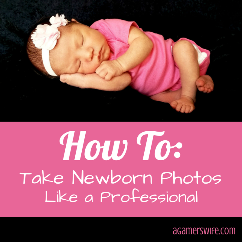 How to take newborn photos like a professional