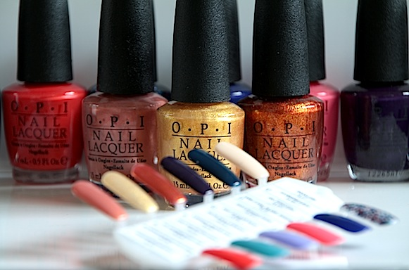 vernis OPI collection euro centrale