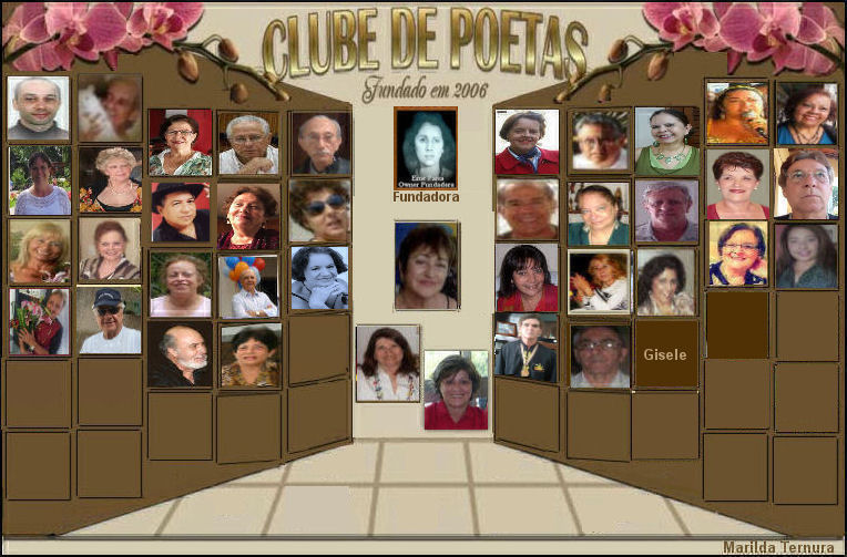 ELENCO DO CLUBE DE POETAS